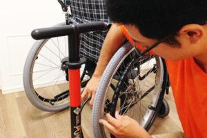 葛飾 東京 車椅子交換